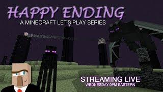 Minecraft HAPPY ENDING #57 Live Stream -- This is Bazaar!