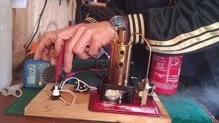 Electricity from Steam (DIY Mini Powerplant)