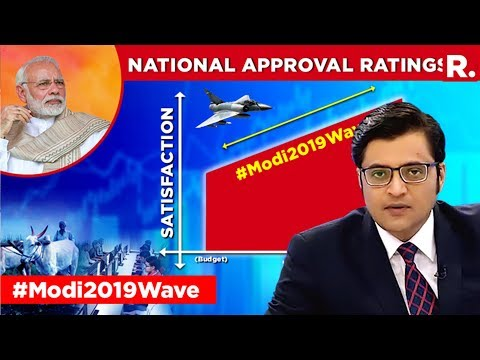 CVoter Survey Shows A Surge In PM Modi s Popularity The Debate With Arnab Goswami