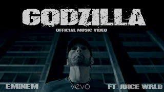 Eminem - Godzilla (OFFICIAL) ft. Juice WRLD   4K   VEVO   CLEAN KARAOKE INSTRUMENTAL