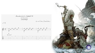 Assassin's Creed III - Main Theme - Fingerstyle Guitar Tab Sheet Music