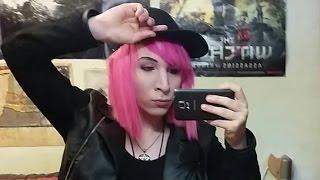 Amotharis ChrisMidnightx Spricht, Pink Hair Emo Femboy Androgyn Hentai Visual Kei
