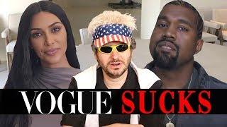 Vogue's 73 Questions is Stupid (Ft. Kim Kardashian & Kanye West)