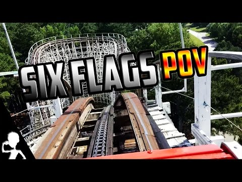 Six Flags Over Georgia POV Experience 🎢 The USA Diaries 🎡 #160 | Get Germanized