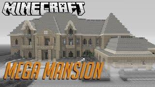 MINECRAFT MEGA MANSION WALKTHROUGH!!