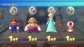 Mario Party 10 - Mushroom Park (Master CPU Difficulty) Wario, Rosalina, Mario, Toad #41