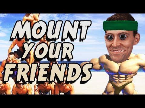 Xxx Mp4 MOUNTIN MEN Mount Your Friends 3D Gameplay 3gp Sex