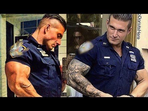 Xxx Mp4 POLICE MUSCLE ALIEN VACUUM POSE KEVIN LEVRONE 2017 COMEBACK CRAZY PHYSIQUES 3gp Sex