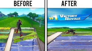 Every WIN I Stretched my Resolution in Fortnite