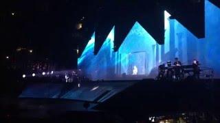 Justin Bieber's Entrance - Purpose Tour Oakland (March 18, 2016)