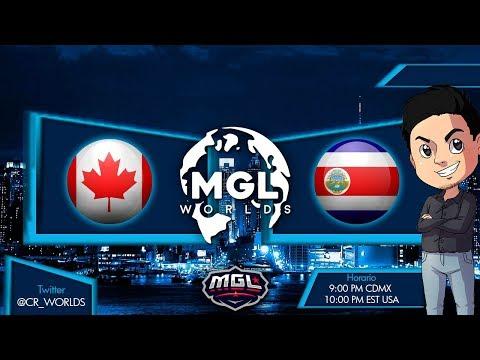 Mundial de Clash Royale     Canada vs Costa Rica    Fase 1 de la CR WORLDS