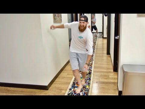 World s Longest LEGO Walk Dude Perfect
