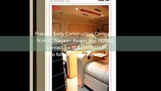 Modified tata winger , mobile van , luxury car, Modification , Mobile Van  (Tech car Series)