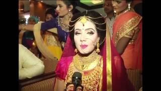 বৌভাত অনুষ্ঠানে মাহি বললেন গত দেড়মাস সংসার করিনি  ---