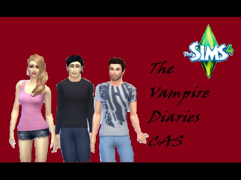 The Sims 4 Fantasy Fiction CAS: Vampire Diaries