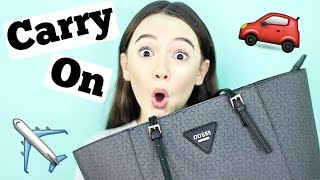 What's In My Carry On Bag For Teens | 2016 Summer Travel Essentials | Fiona Frills