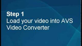 How to make a YouTube video in HD quality using AVS Video Converter?