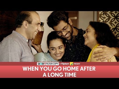 Xxx Mp4 FilterCopy When You Go Home After A Long Time Ft Dhruv Sehgal 3gp Sex