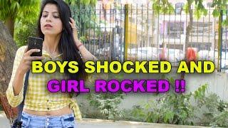 Boys Shocked And Girl Rocked || SahibNoor Singh