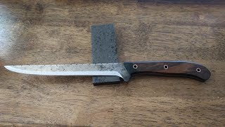 Knife Build.  Creating a Fillet Blade for CapeFearOutdoors