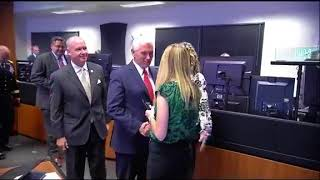 VP Mike Pence visits NASA Marshall Space Flight Center in Huntsville