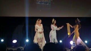 Miss grand international 2015 Crowning Moment - Claire Parker งานแถลงข่าว มิสแกรนด์ไทยแลนด์ 2016