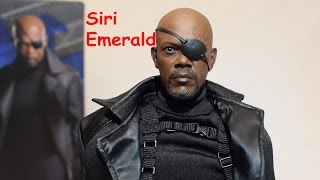 Hot Toys Nick Fury 1/6 Scale MMS 315 Samuel L Jackson Review Unboxing