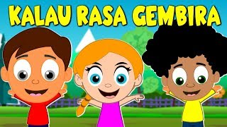 Lagu Kanak Kanak Melayu Malaysia - KALAU RASA GEMBIRA - IF YOU ARE HAPPY AND YOU KNOW IT IN MALAY