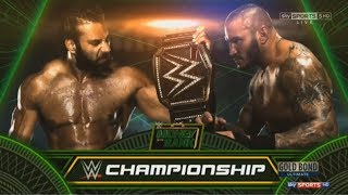 WWE 2K17 (Jinder Mahal vs Randy Orton) - MONEY IN THE BANK 2017 - WWE World Heavyweight Championship