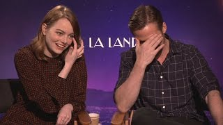 Emma Stone teases Ryan Gosling about an audition