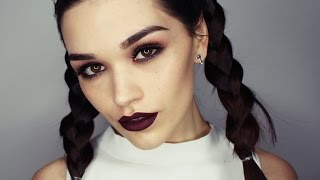 Modern Grunge makeup tutorial