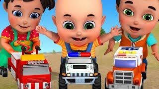 Car Garage for kids | Car toys video - Surprise eggs toys for children by Jugnu Kids