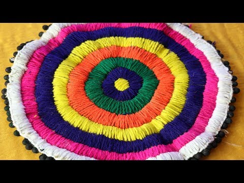 Xxx Mp4 DIY Handmade Doormat How To Make Doormat At Home Doormat From Waste Materials DIY Home Project 3gp Sex