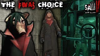 JOIN JIGSAW... OR GO FREE?! THE FINAL CHOICE!!   Saw II: Flesh and Blood   ENDING