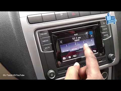 New Volkswagen india Touch screen media player RCD 330G on Vento Ameo Polo Highline