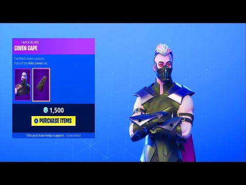 Fortnite ITEM SHOP (October 18) | *NEW* VAMPIRE SKIN + *NEW* CAPE!