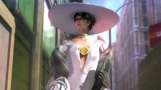 Angels Strip Witch Cereza Naked. Christmas Dress Torn to Pieces (Bayonetta 2)