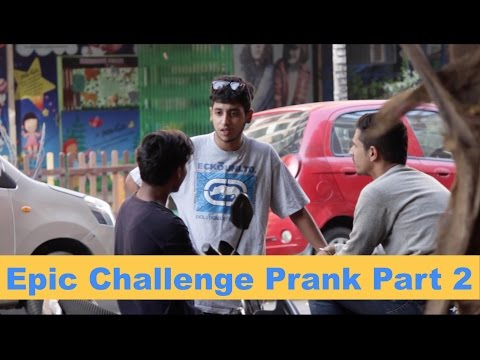 Epic Challenge Prank Part 2 | Super Desi Pranks ( Pranks in India)