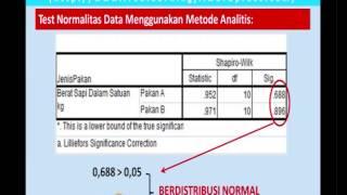 Independent Sample t Test dengan SPSS