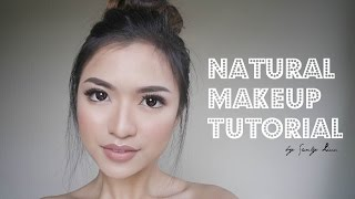 NATURAL MAKE UP TUTORIAL - (ASIAN) INDONESIA