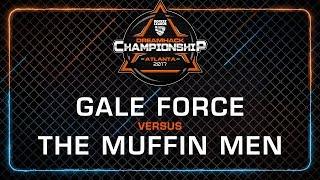 Gale force vs The Muffin Men - Rocket League Championship - DreamHack Atlanta 2017