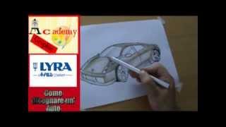 come disegnare un'auto, macchina
