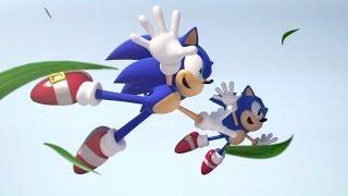 Sonic Generations Walktrough  part 1 HD