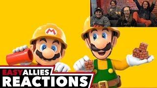 Super Mario Maker 2 - Easy Allies Reactions