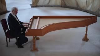 Claudio Merulo, Toccata prima del primo tono. Marco Mencoboni harpsichord