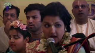 Mayapur Kirtan Mela 2017 Day 1 Kirtan by Her Grace Gaura Mani Devi Dasi