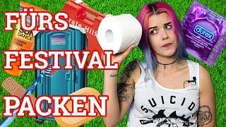 Festival Packliste + Tipps: HYGIENE & MEDIKAMENTE || Schruppert