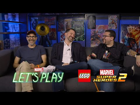 Brian Huskey & Jesse Falcon face off against Ryan | Marvel Let's Play
