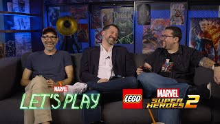 Brian Huskey & Jesse Falcon face off against Ryan | Marvel Let