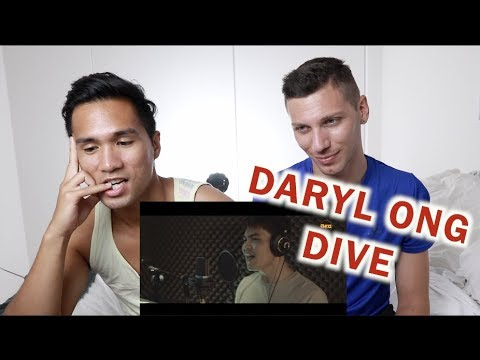 Dive - Ed Sheeran - Cover by Daryl Ong | REACTION